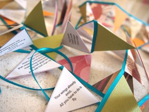 Graduation Bunting with inspirational quotes