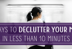 declutter your mind reduce stress